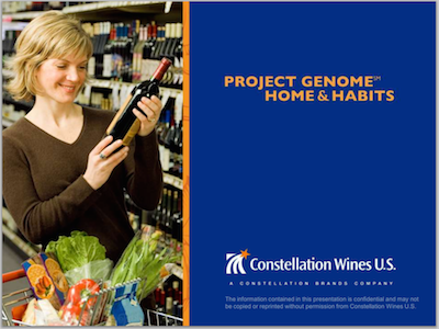 Constellation Wines Project Genome